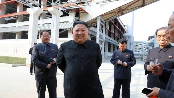 Kim Jong-un offenbar wieder aufgetaucht