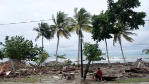 Viele Tote durch Tsunami in Indonesien