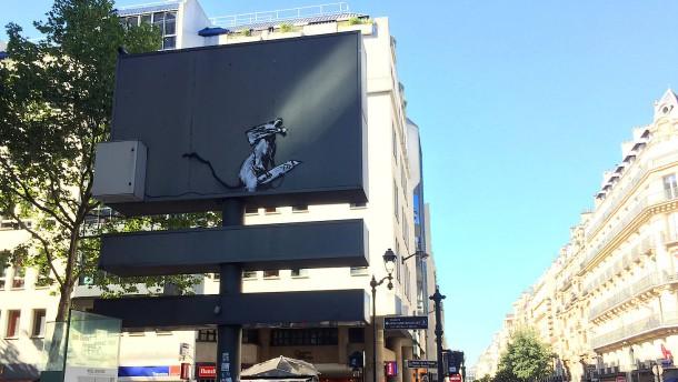 Banksy-Kunstwerk in Paris gestohlen