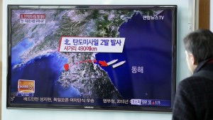 Nordkorea feuert zwei Kurzstreckenraketen ab