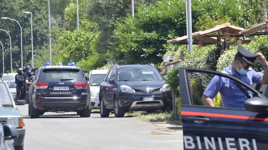 Der Vorfall geschah in Ardea, etwa 40 Kilometer südlich von Rom.