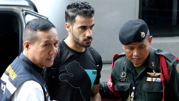Bahrain fordert Auslieferung von inhaftiertem Fußballprofi