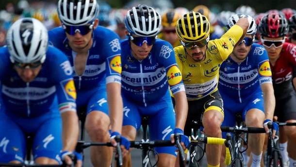 Das gefräßige Wolfsrudel der Tour de France