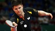 Tischtennis-Profi Ovtcharov bucht Rio-Ticket mit Gold