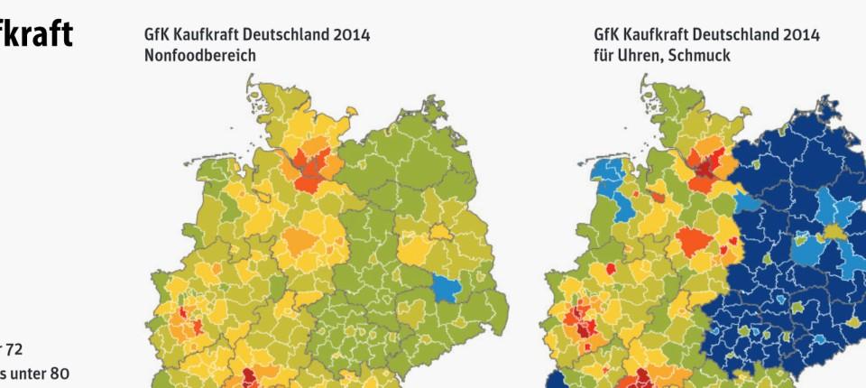 Karte Ostdeutschland.Ost West Unterschiede Nach Wiedervereinigung Deutschlands