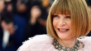 Vogue-Chefin ruft zu Nachhaltigkeit in der Mode auf