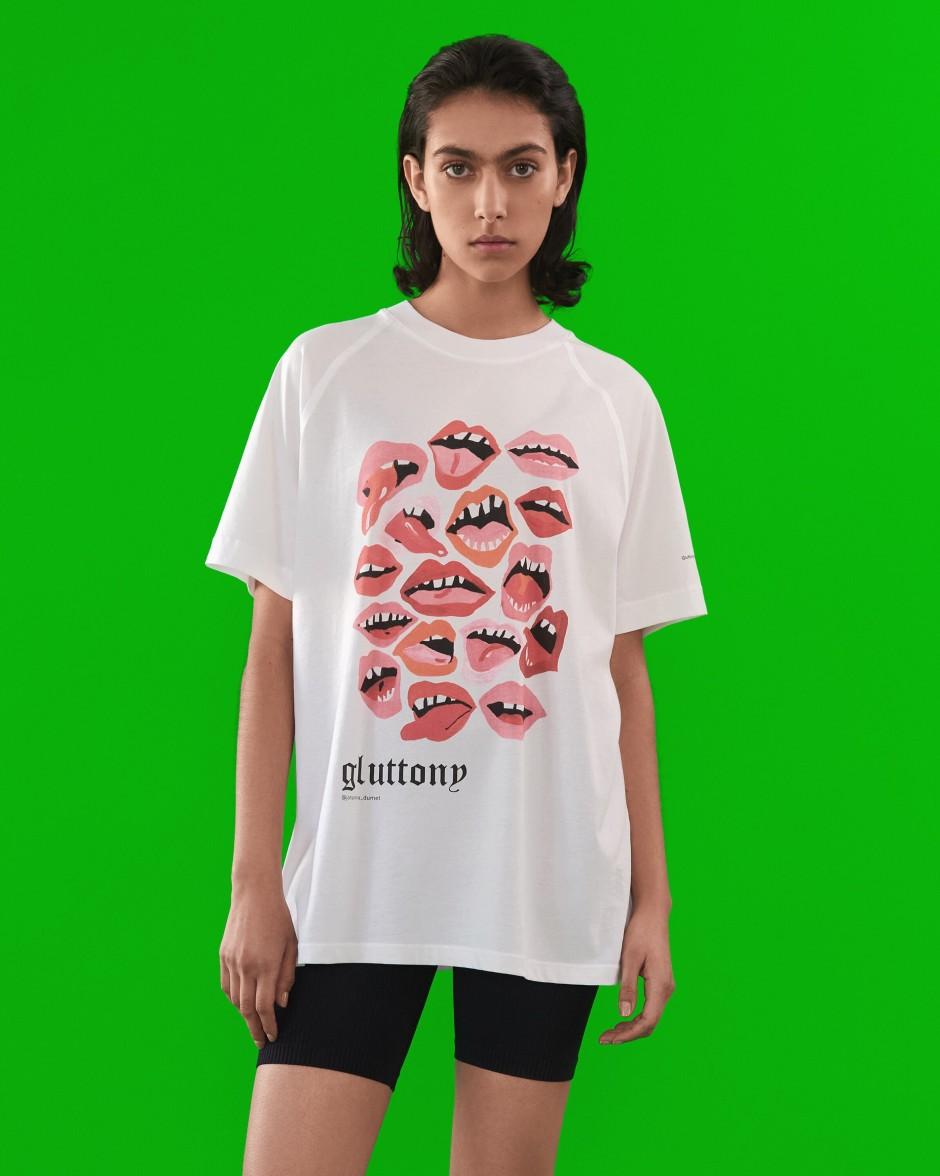 Sieben Todsünden auf T-Shirts bei Lala Berlin