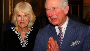Charles und Camilla wieder vereint