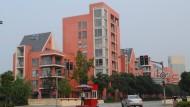 Deutsche Geisterstadt in China: in Anting New Town stehen die Häuser leer