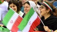 Kein Volleyball für Frauen in Iran