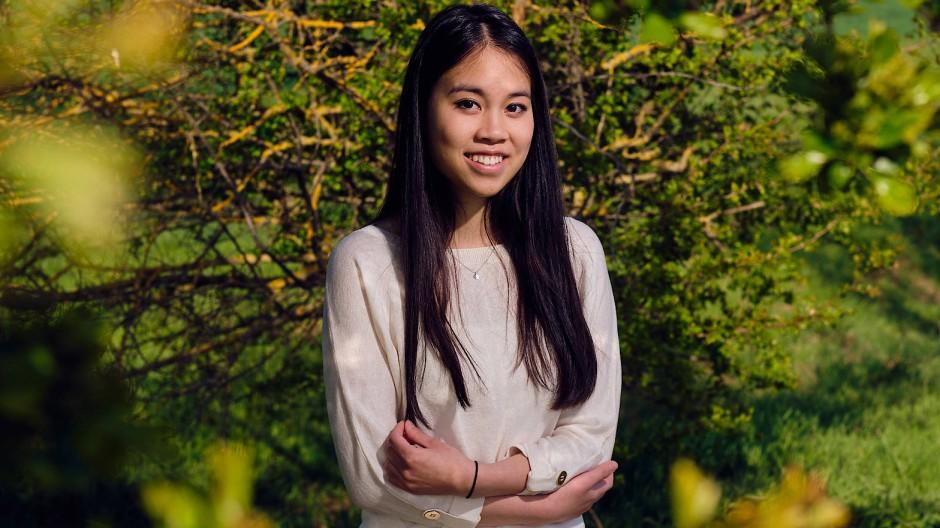 Fühlt sich den Jungsozialisten auch deshalb verbunden, weil sie gegen Diskriminierung einstehen: Michelle Nguyen