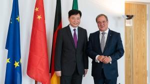 Laschet warnt vor zu starker Abgrenzung von China