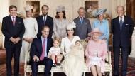 Das britische Königshaus im Jahr 2015