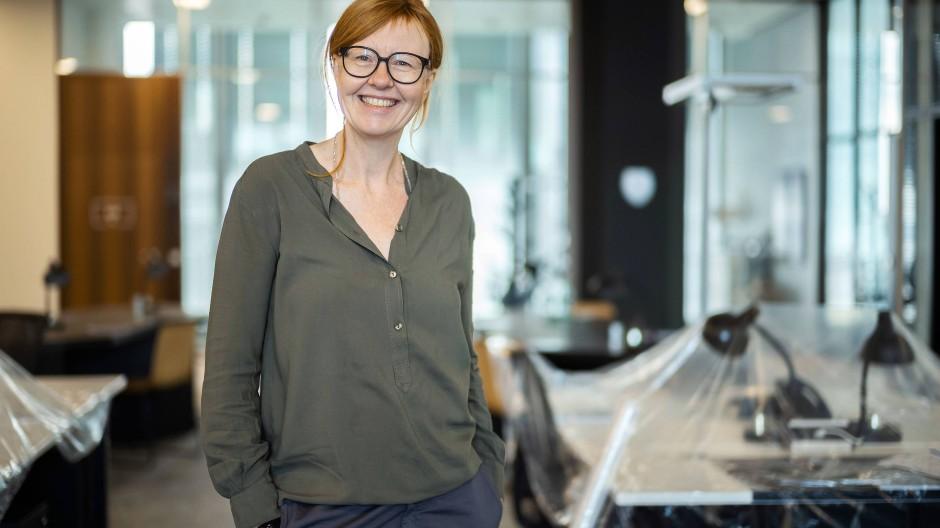 Geeignete Motive: Yvonne Wassong ist Location Scout für Film- und Fernsehproduktionen in Frankfurt.