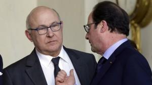 Frankreich senkt Wachstumsprognose