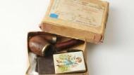 Traurige Post für eine Soldatenwitwe: Die Habseligkeiten des an der Front gefallenen Schriftstellers Gustav Sack passten in eine kleine Schachtel