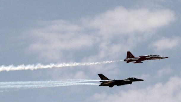 Türkei soll PKK-Stellungen bombardiert haben
