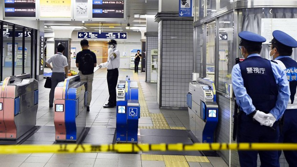 Mehrere Verletzte bei Messerangriff in Tokio