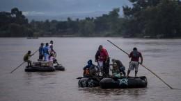 Flüchtlings-Exodus in Mittelamerika