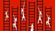 Wer steigt hoch und wessen Leiter kippt um?