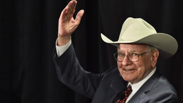 Warren Buffet will so groß einkaufen wie noch nie