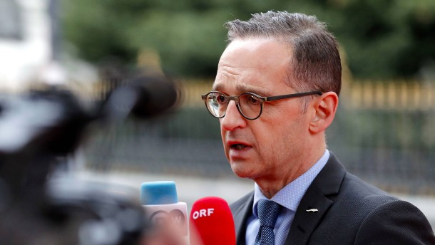 Maas fordert weltweite Abrüstungsinitiative