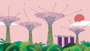 Singapur macht sich locker