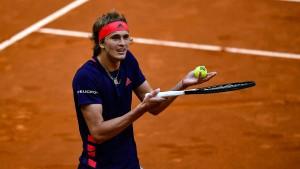 Titelverteidiger Zverev verpasst Halbfinale in Madrid