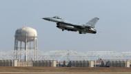 Kampfflugzeug in Südkorea