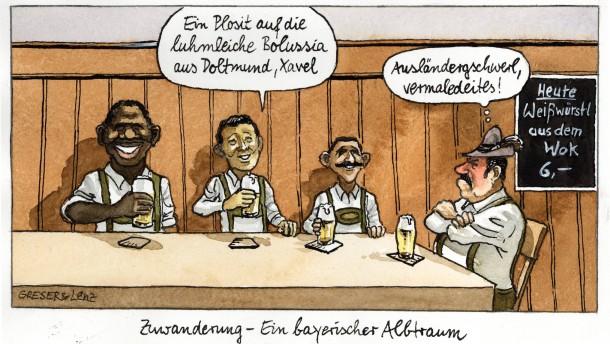 """""""Zuwanderungsprobleme kein Massenphänomen"""""""