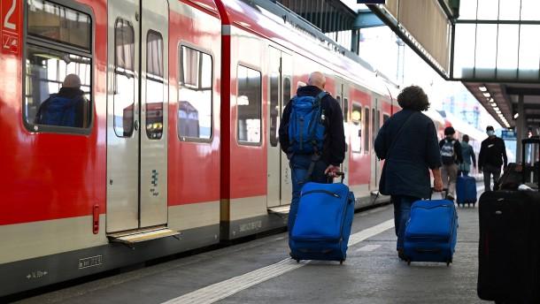 Bahn-Verkehr rollt nach Streik wieder
