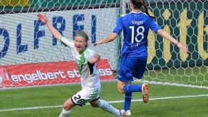 Wolfsburg feiert das Double - und auch noch das Triple?