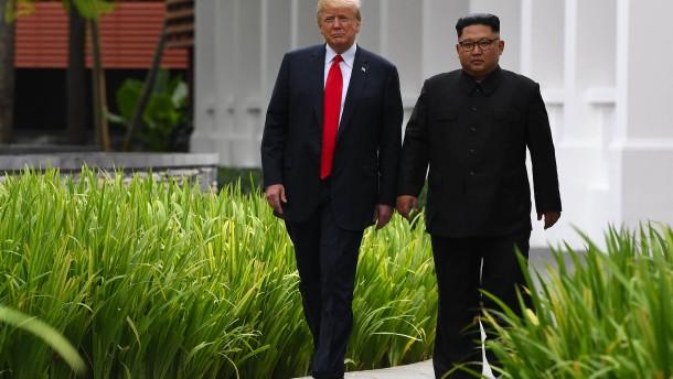Trump will Termin für neues Treffen mit Kim verkünden