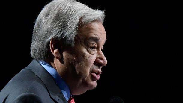 UN-Generalsekretär besorgt über Verschärfung des Machtkampfes