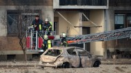 Toter bei Explosion in Ludwigshafen