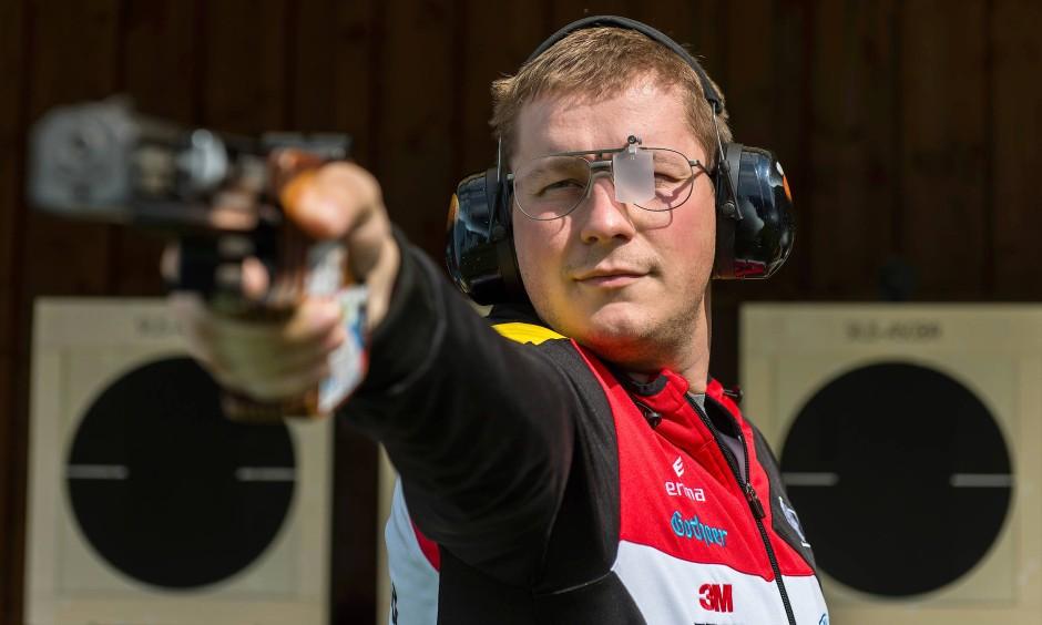 Goldschütze: Christian Reitz kann auf ein großartiges Jahr zurückblicken - und hat bereits die nächsten Olympischen Spiele im Visier.