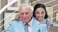 Carmen Würth (wird am Dienstag 80 Jahre alt) und ihr Ehemann Reinhold (82). Die beiden sind seit mehr als 60 Jahren verheiratet.