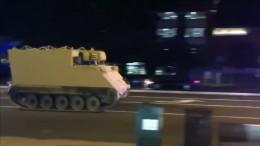 Soldat klaut Panzer und liefert sich Verfolgungsjagd mit Polizei