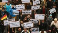 Aktionstag gegen Abschiebungen nach Afghanistan und in den Irak