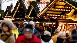 Deutsche Weihnachtsmärkte offenbar gut geschützt