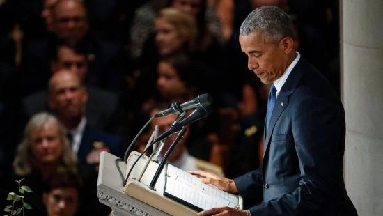 Obama würdigt McCains politische Verdienste