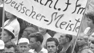 Lang ist's her: 1959 gewannen die Frankfurter ihren ersten und einzigen Meistertitel.