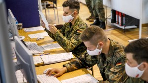 Der Kampf der Bundeswehr gegen Corona