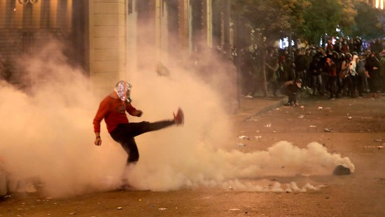 Wieder Ausschreitungen in Beirut