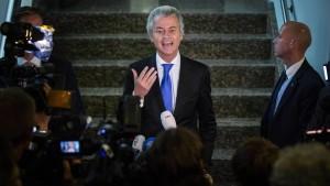 Niederlande: Wirbel um Wilders