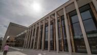 &Uuml;berflutet: <a href='./tag/der'>Der</a> Wasserschaden im neuen Rhein-Main Congress-Center wird nun ermittelt.
