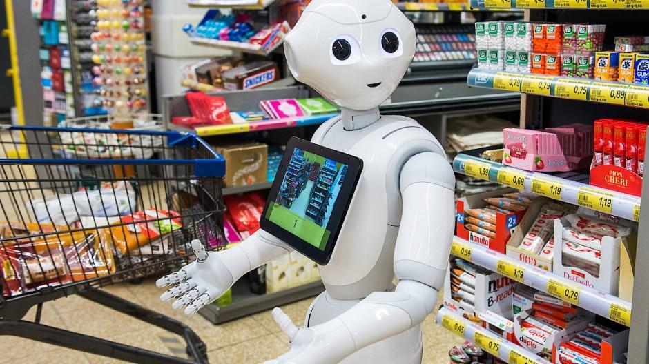 Problemlöser: Die Akzeptanz für den Einsatz humanoider Roboter wächst.