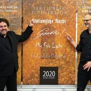 Joern Hinkel (links), Intendant der Bad Hersfelder Festspiele, und Regisseur und Autor Gil Mehmert präsentieren den Spielplan für 2020.