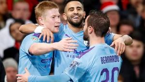 Manchester City vor Finaleinzug