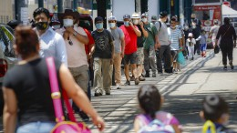 Höchste Zahl an Corona-Toten binnen 24 Stunden seit Ende Mai